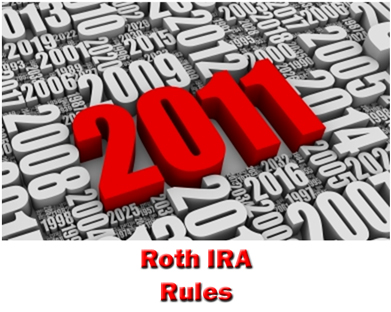 2011 Roth IRA Rules