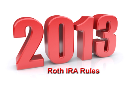 2013 Roth IRA Rules