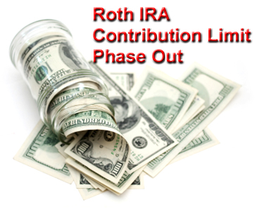Roth IRA Contribution Limit Phase Out