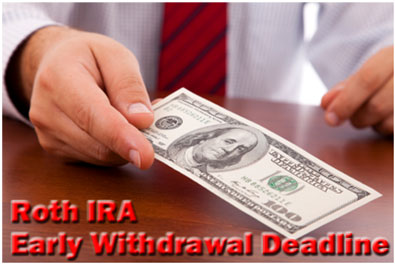 Roth IRA Early Withdrawal Deadline