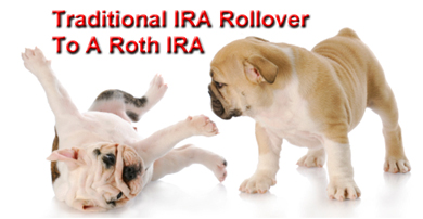 Traditional IRA Rollover To A Roth IRA