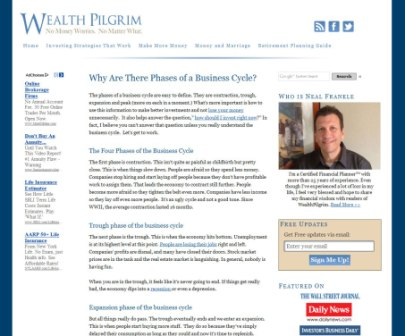 The Wealth Pilgrim Website